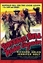 Buffalo Bill Rides Again Poster