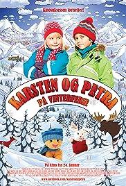 Karsten og Petra på vinterferie Poster