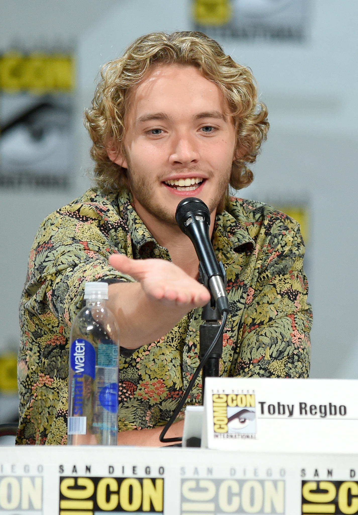 Toby Regbo at an event for Reign (2013)