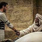 Morgan Freeman and Jack Huston in Ben-Hur (2016)