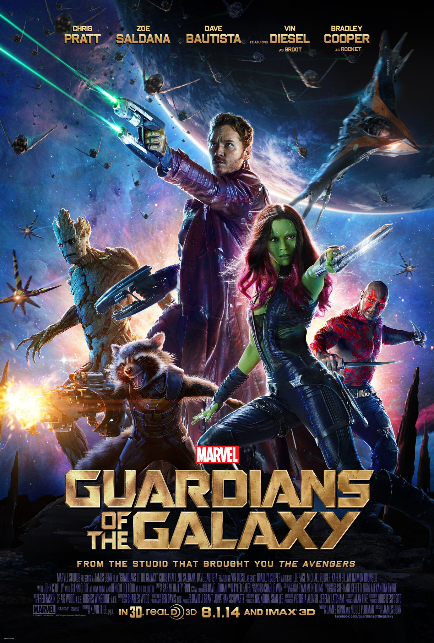 Guardians of the Galaxy 2014 IMAX Hindi Dubbed 720p BluRay ESubs 834MB Download