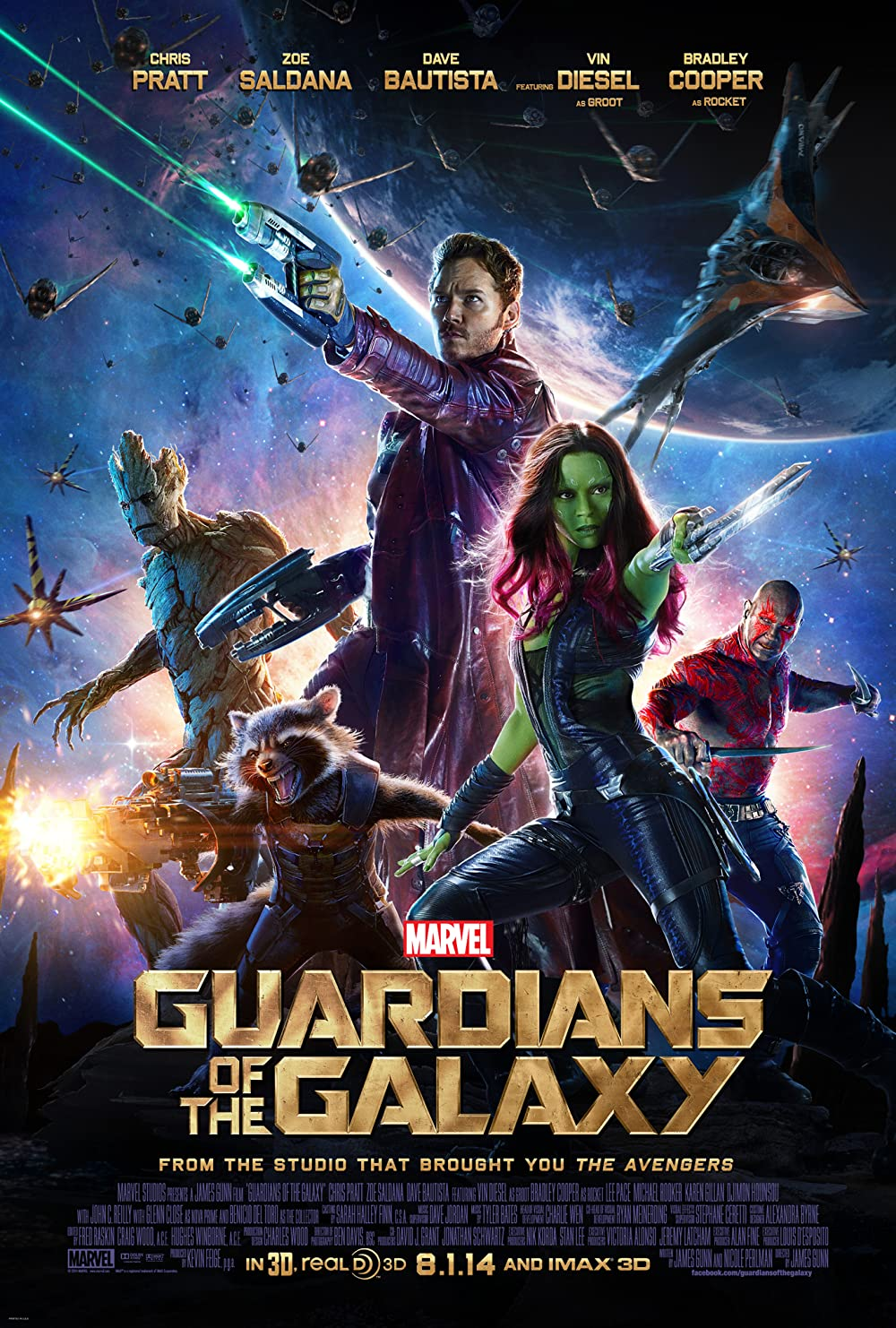 Guardians of the Galaxy 2014 IMAX Hindi Dual Audio 440MB BluRay ESubs Download