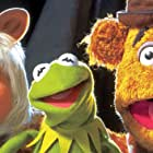 Frank Oz, Steve Whitmire, Kermit the Frog, Miss Piggy, and Fozzie Bear in Muppets from Space (1999)