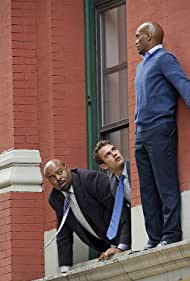 Chi McBride and Theo James in Golden Boy (2013)