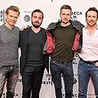 James Huntsman, Todd Slater, Anders Danielsen, and Dominique Rocher at an event for La nuit a dévoré le monde (2018)