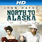 John Wayne and Capucine in North to Alaska (1960)