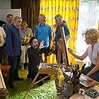 Tim Burton, Amy Adams, and Bruno Delbonnel in Big Eyes (2014)