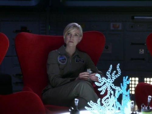 Laura Harris in Defying Gravity (2009)