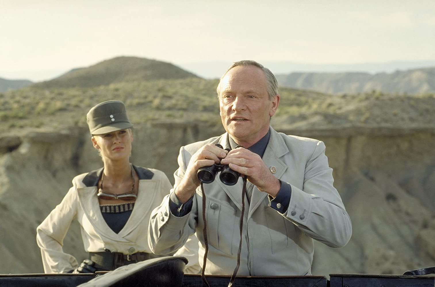 Julian Glover and Alison Doody in Indiana Jones and the Last Crusade (1989)