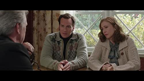 The supernatural thriller brings to the screen another real case from the files of renowned demonologists Ed and Lorraine Warren. Reprising their roles, Oscar nominee Vera Farmiga and Patrick Wilson star as Lorraine and Ed Warren, who, in one of their most terrifying paranormal investigations, travel to north London to help a single mother raising four children alone in a house plagued by malicious spirits.