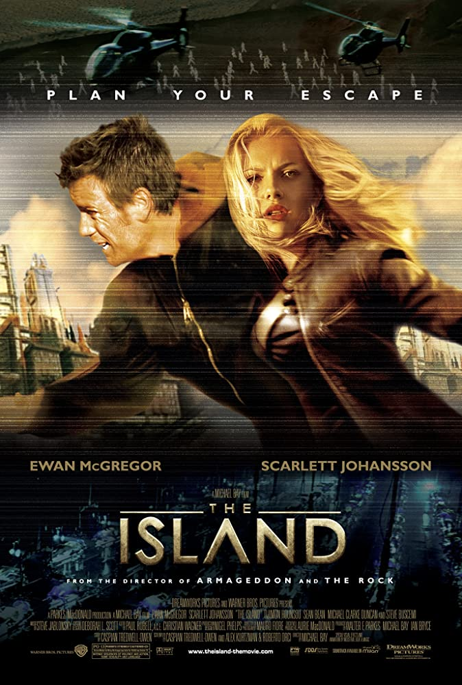 The Island (2005) 720p [Hindi DD2.0 + English DD5.1] BluRay  ESubs Dual Audio