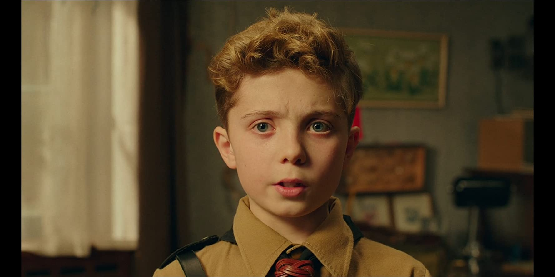Roman Griffin Davis in Jojo Rabbit (2019)