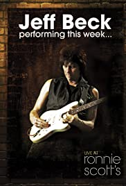 Jeff Beck at Ronnie Scott's Poster