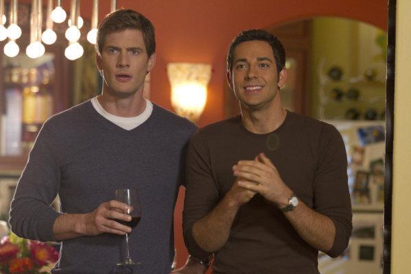 Ryan McPartlin and Zachary Levi in Chuck (2007)