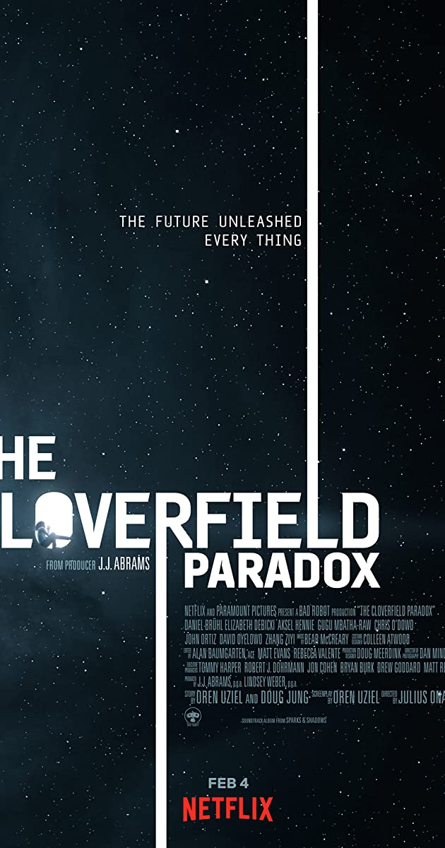 Subtitle of The Cloverfield Paradox
