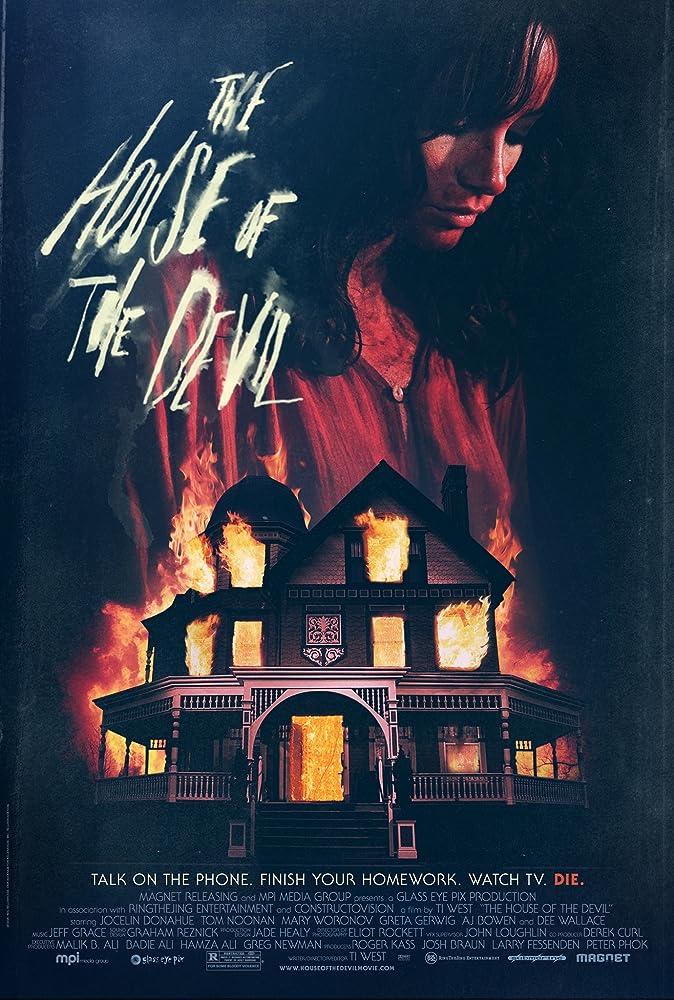Cartaz do Filme: A Casa do Demônio.
