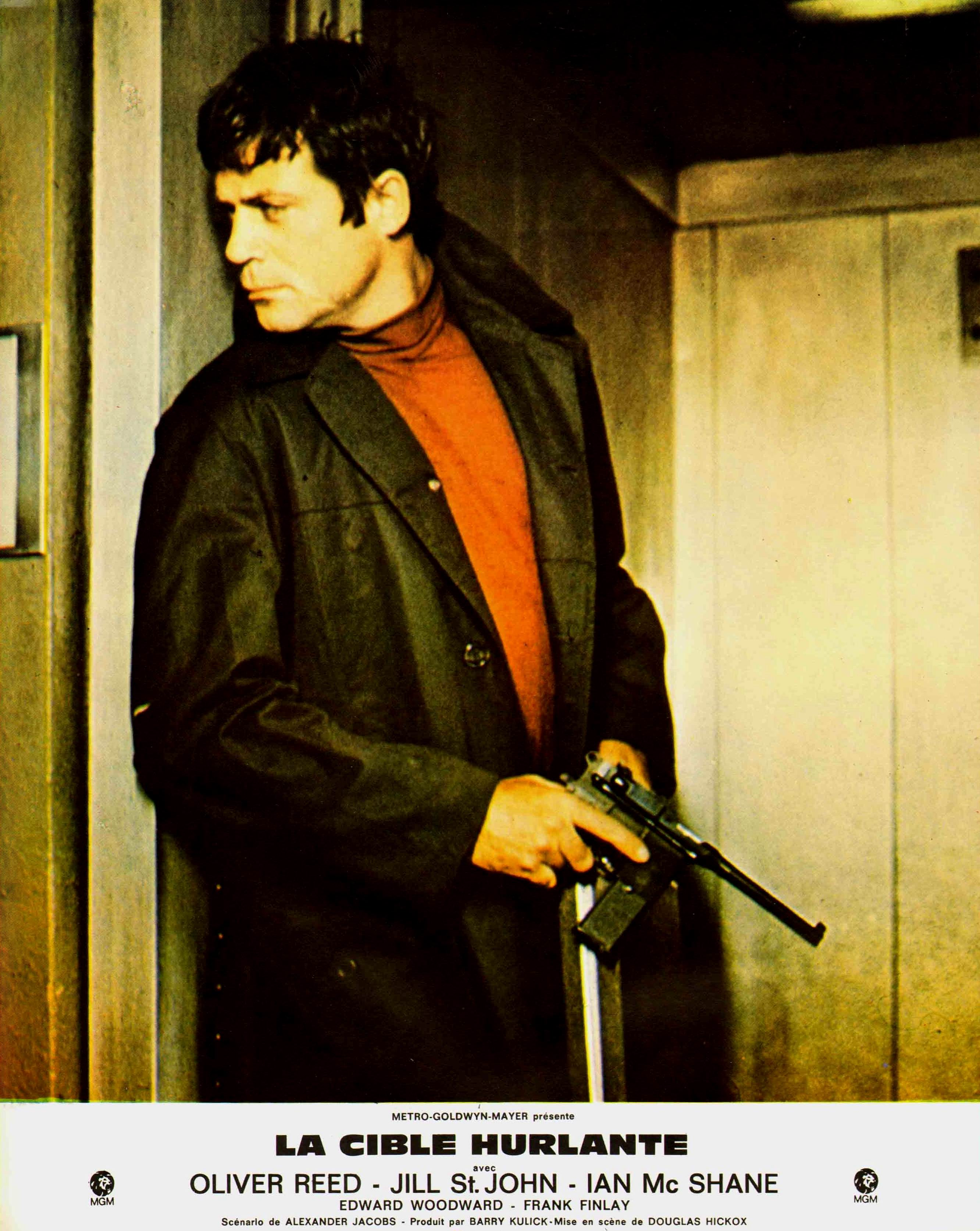 Oliver Reed in Sitting Target (1972)