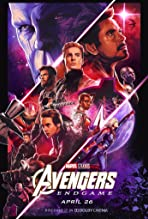 Robert Downey Jr., Josh Brolin, Chris Evans, Scarlett Johansson, Brie Larson, Jeremy Renner, Paul Rudd, Chris Hemsworth, Danai Gurira, and Karen Gillan in Avengers: Endgame (2019)