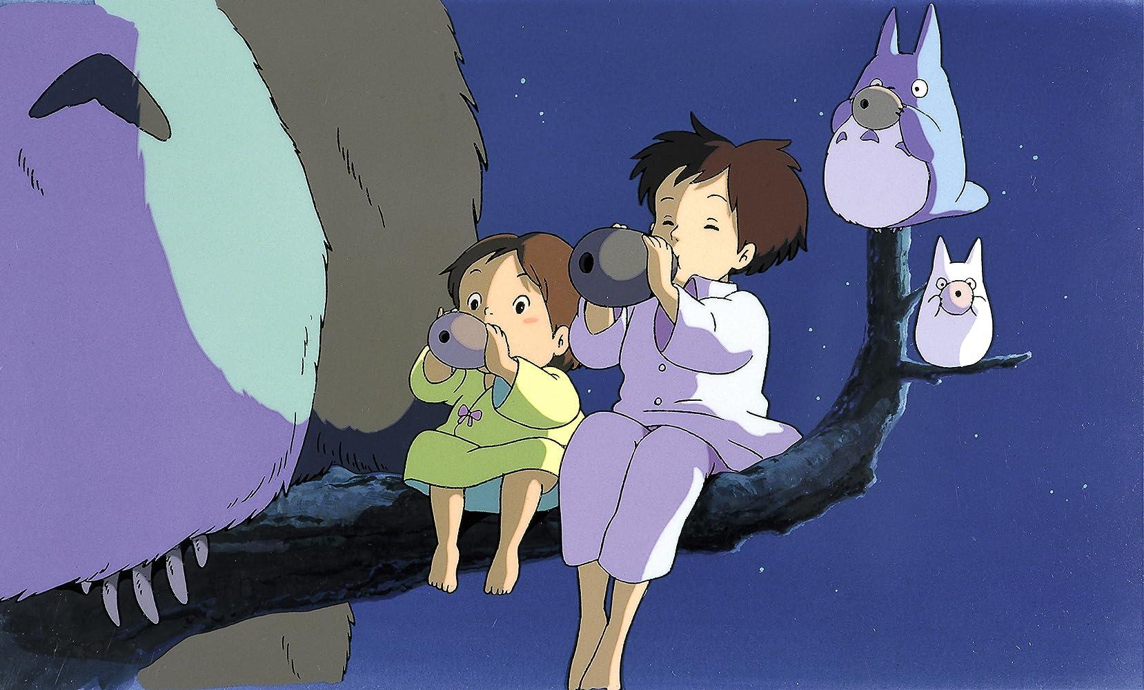Noriko Hidaka and Chika Sakamoto in Tonari no Totoro (1988)