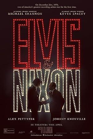Elvis & Nixon Pelicula Poster