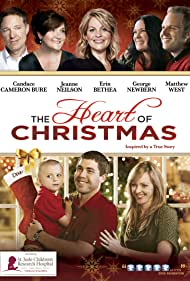 Candace Cameron Bure, George Newbern, Eric Jay Beck, Jeanne Neilson, Christopher Shone, and Nicholas Shone in The Heart of Christmas (2011)