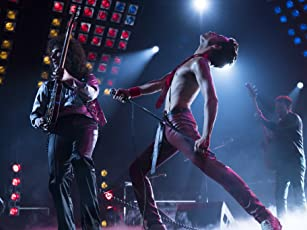 Joseph Mazzello, Rami Malek, and Gwilym Lee in Bohemian Rhapsody (2018)