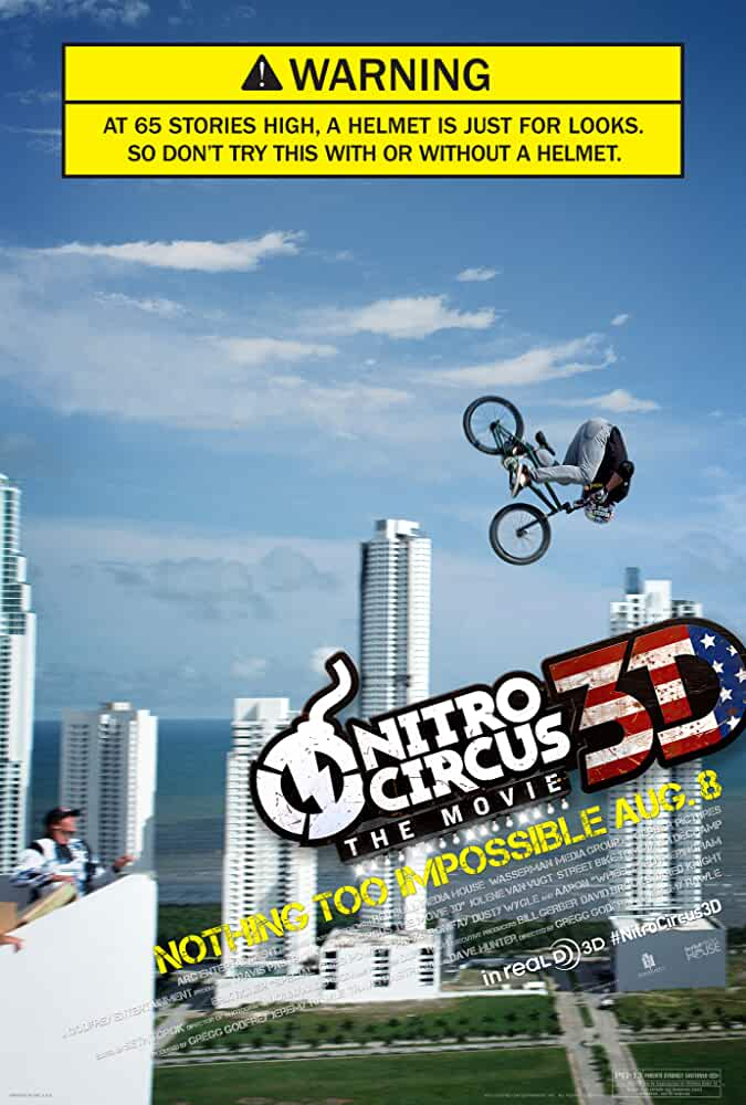 Nitro Circus: The Movie (2012) BluRay 720p Dual Audio [Hindi + English] DD 5.1