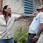 Danny Trejo, Amaury Nolasco, and Gina Carano in In the Blood (2014)