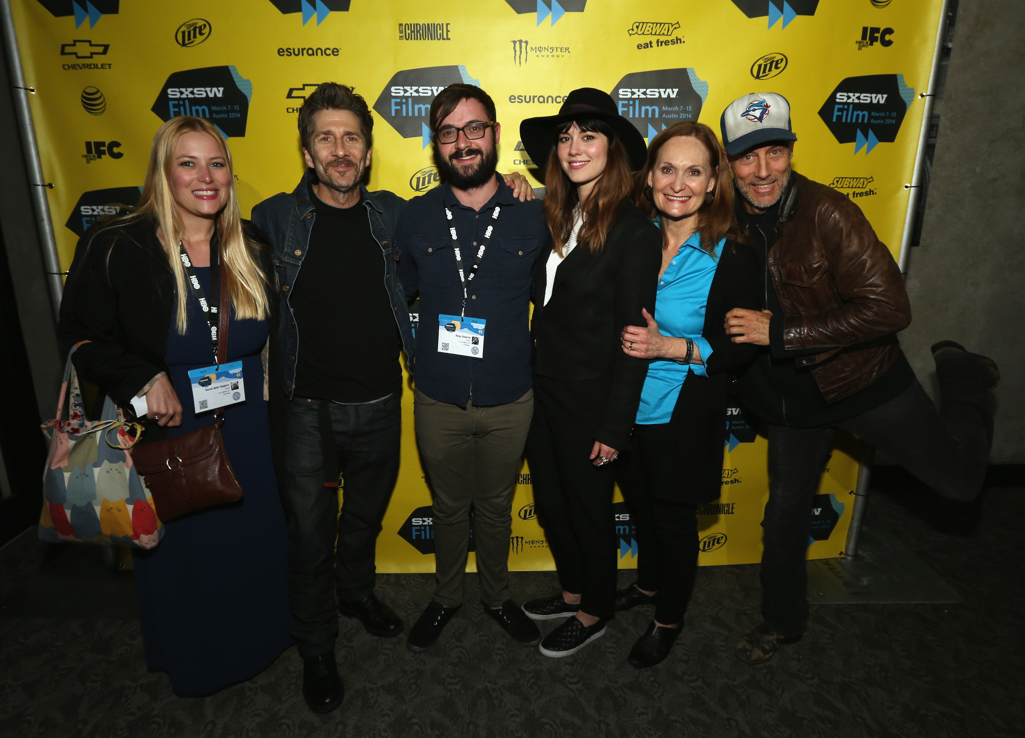 Beth Grant, Jon Gries, Leland Orser, Mary Elizabeth Winstead, and Sarah Beth Shapiro at an event for Faults (2014)