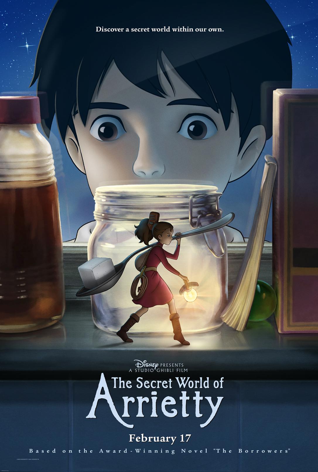 arriettys hemmelige verden dvd