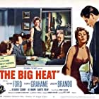 Glenn Ford, Lee Marvin, Gloria Grahame, and Howard Wendell in The Big Heat (1953)