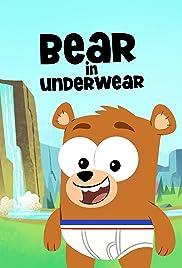 Bear in Underwear Poster