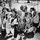 Ben Stiller, Cody Burger, Allen Covert, David Goldman, Patrick LaBrecque, Joseph Wayne Miller, Aaron Schwartz, Kenan Thompson, and Shaun Weiss in Heavyweights (1995)