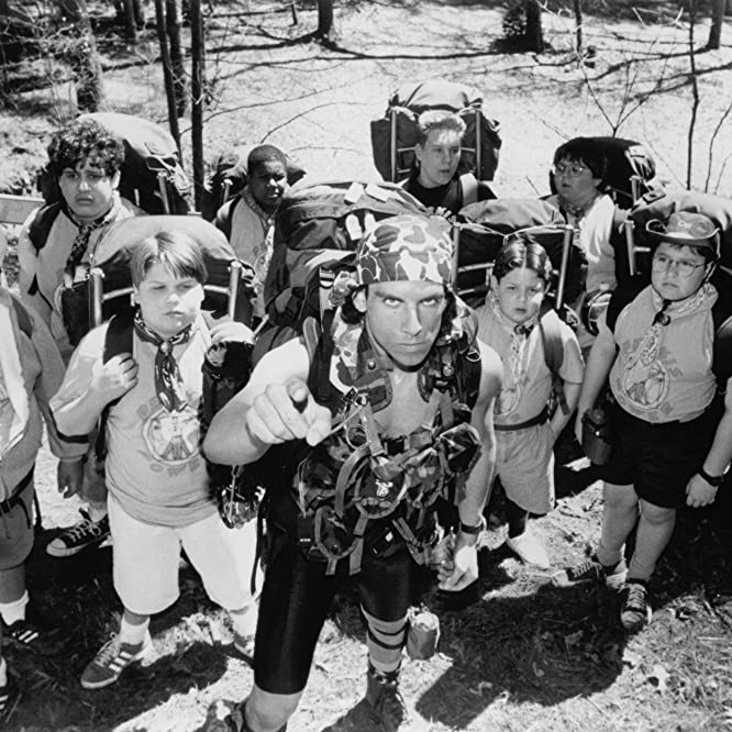 Ben Stiller, Cody Burger, Allen Covert, David Goldman, Joseph Wayne Miller, Aaron Schwartz, Kenan Thompson, and Shaun Weiss in Heavyweights (1995)