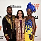 Mira Nair, David Oyelowo, and Lupita Nyong'o at an event for Queen of Katwe (2016)