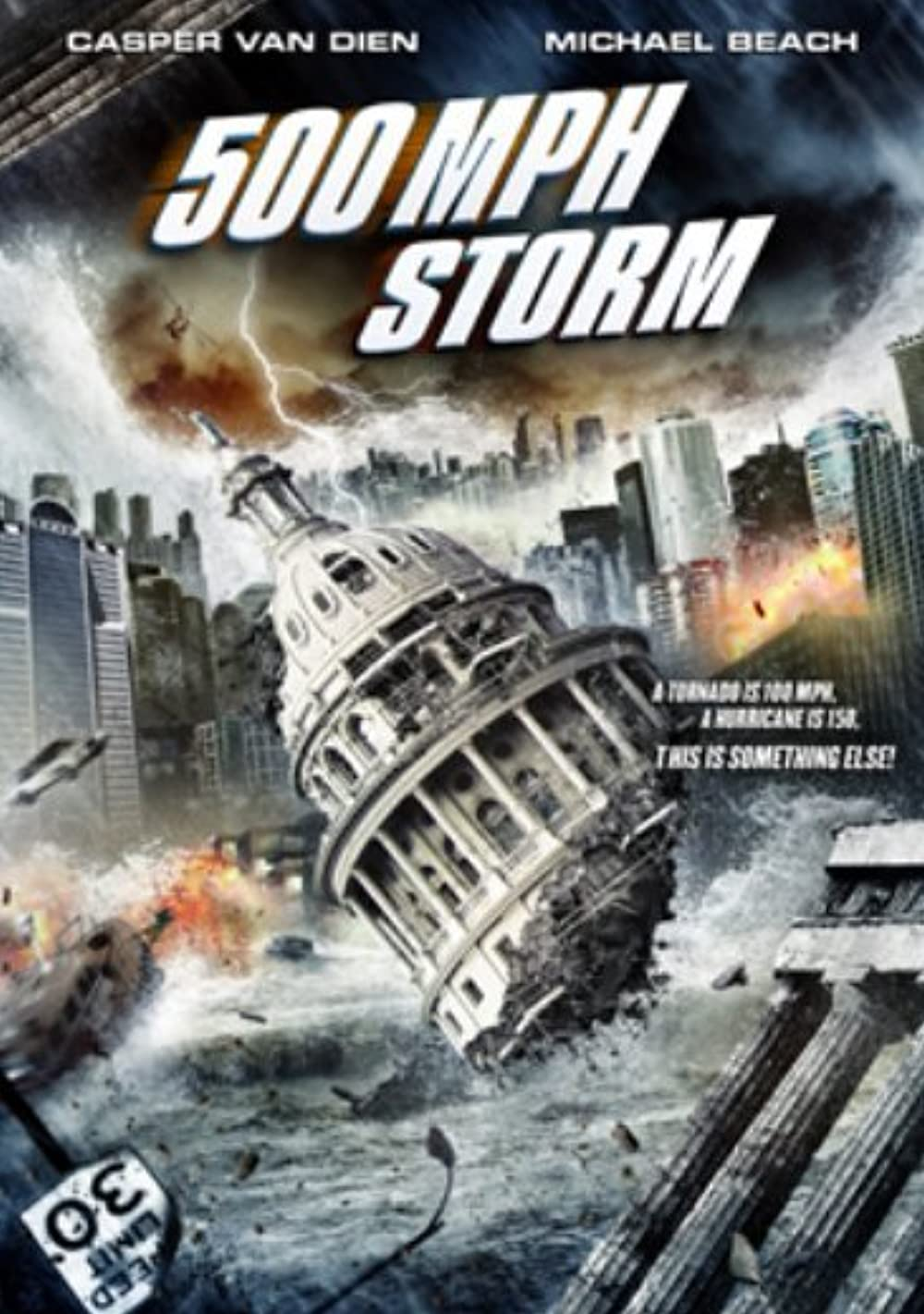 500 MPH Storm 2013 Hindi ORG Dual Audio 720p BluRay ESub 893MB Download