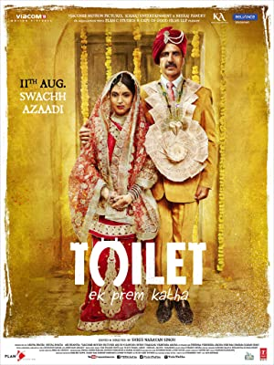 Download Toilet: A Love Story (2017) Hindi Movie 720p | 480p  BluRay 1.3GB | 400MB