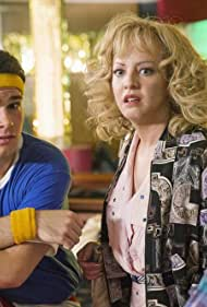 Wendi McLendon-Covey and Troy Gentile in The Goldbergs (2013)
