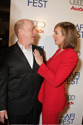 Allison Janney and J.K. Simmons at an event for Juno (2007)