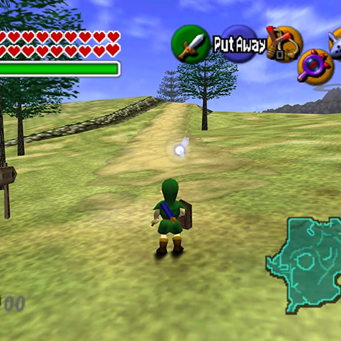 The Legend of Zelda: Ocarina of Time (1998)