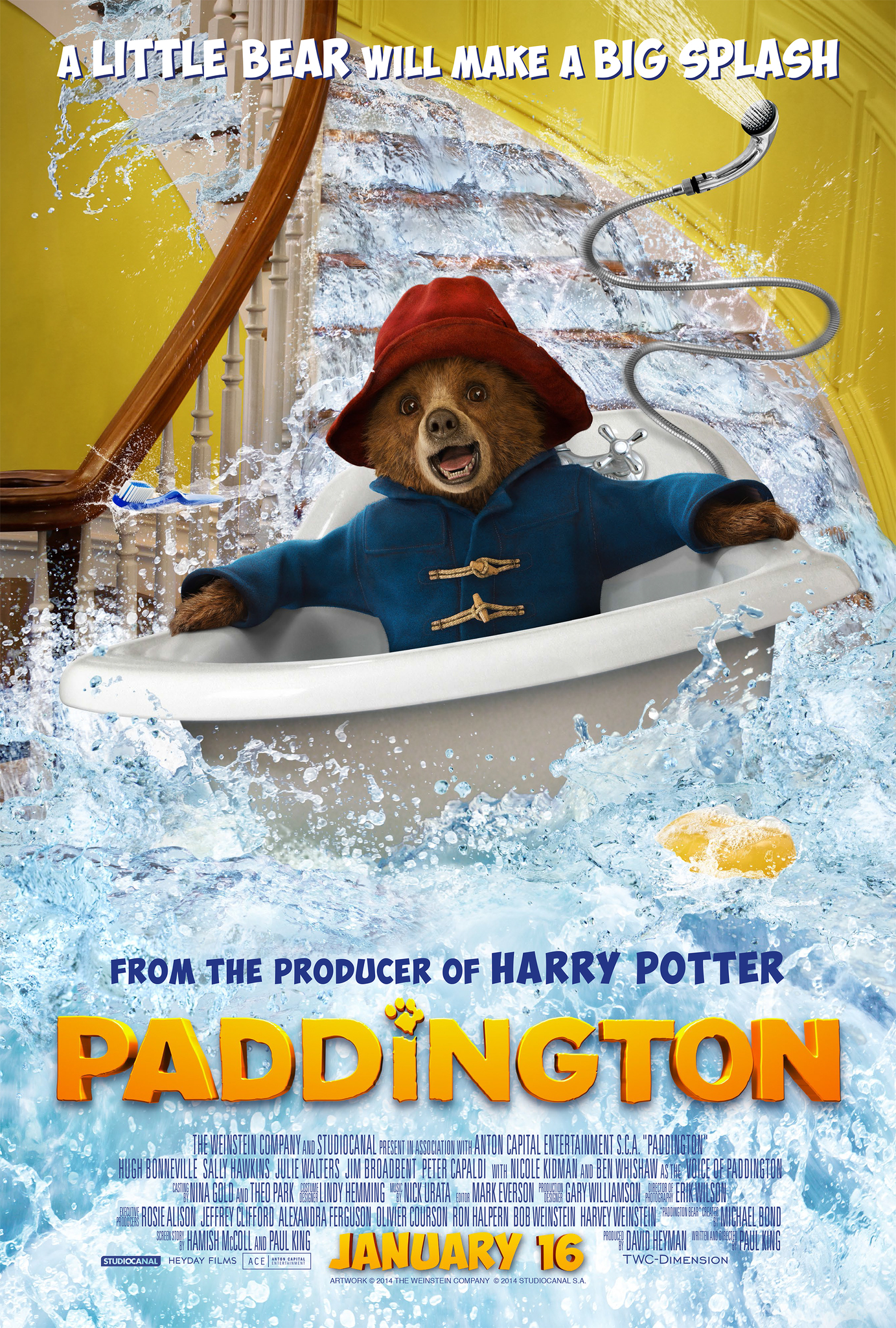 Paddington (2014) BluRay 720p & 1080p