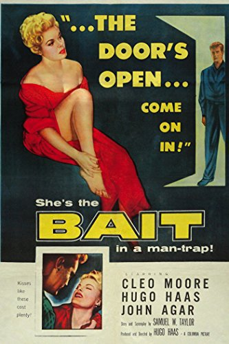 John Agar and Cleo Moore in Bait (1954)