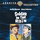 Steve McQueen and Jackie Gleason in Soldier in the Rain (1963)