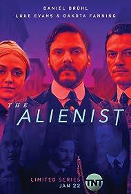 Daniel Brühl, Dakota Fanning, and Luke Evans in The Alienist (2018)