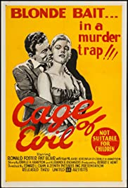 Cage of Evil Poster