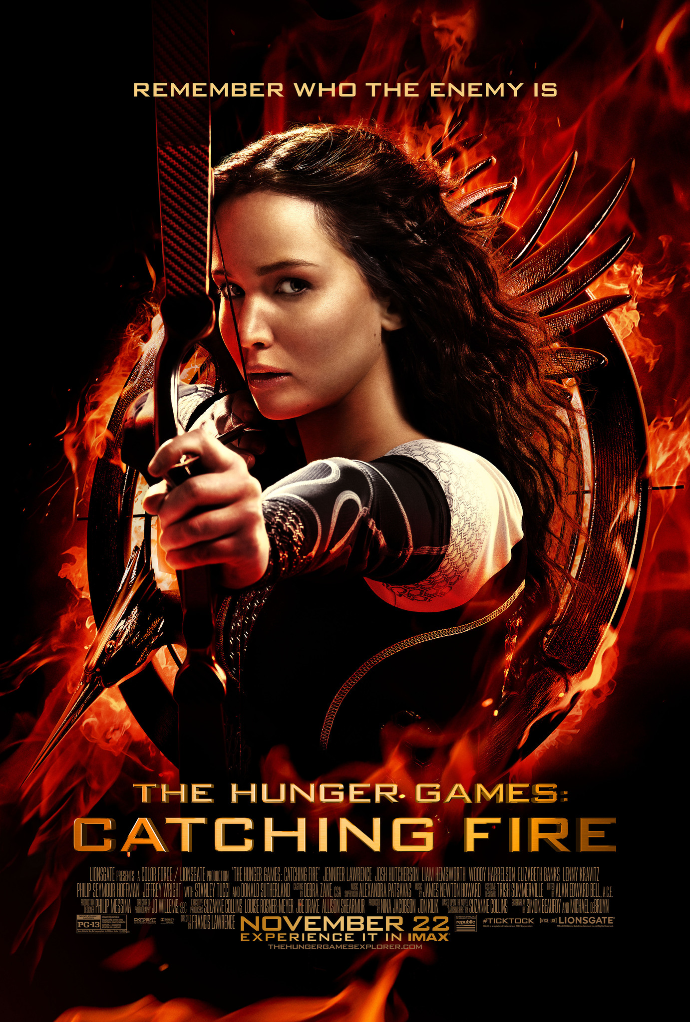 hunger games lembrasement streaming
