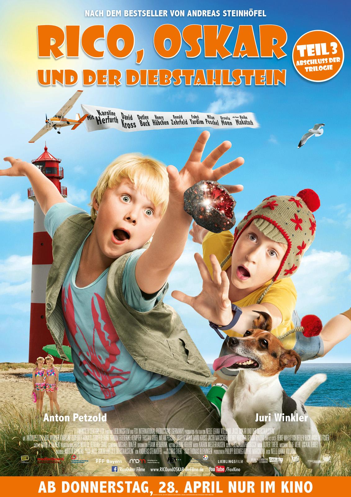 rico oskar und der diebstahlstein 2016 imdb - Andreas Steinhfel Lebenslauf