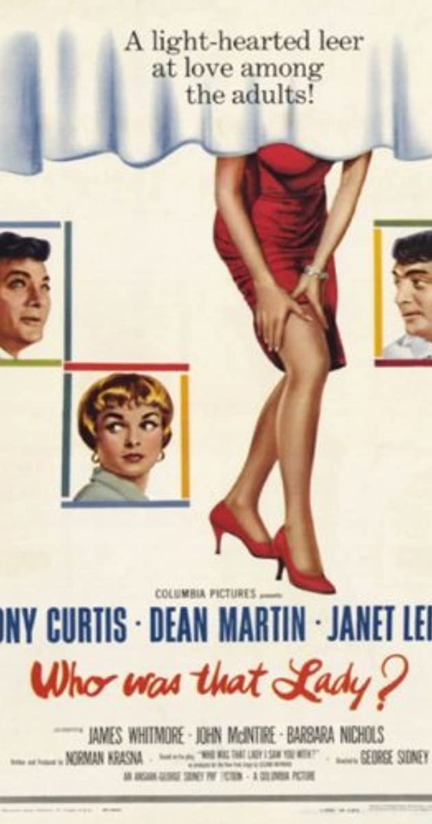 Who Was That Lady? (1960)