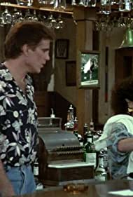 Ted Danson and Rhea Perlman in Cheers (1982)