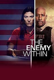 Morris Chestnut, Kelli Garner, Jennifer Carpenter, and Sophia Gennusa in The Enemy Within (2019)